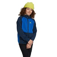 sweat-shirt Burton Crown Weatherproof Fleece Zip - Dress Blue/Lapis Blue - unisex junior