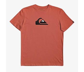 tričko Quiksilver Comp Logo - NNH0/Chili