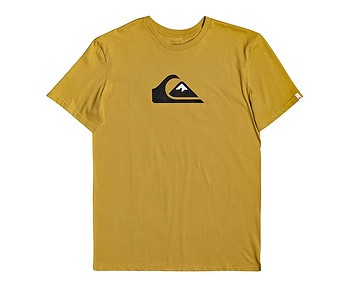 tričko Quiksilver Comp Logo - YLV0/Honey