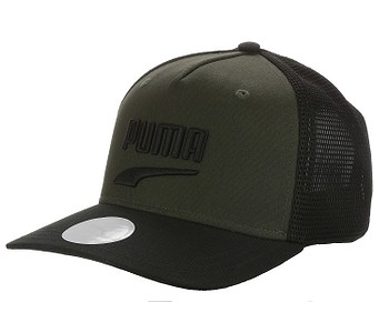 kšiltovka Puma Basketball Trucker - Forest Night/Puma Black