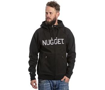 mikina Nugget Ironsight Zip - A/Black