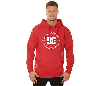 mikina DC Star Pilot Pullover - RQR0/Racing Red