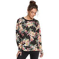 Sweatshirt Roxy Enchanted Isle - XKMY/Anthracite Wonder Garden - women´s