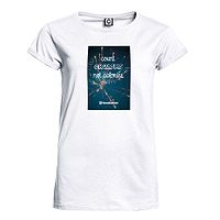 T-Shirt Horsefeathers Counting - White - women´s