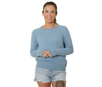 mikina Roxy Stay Together - BLFH/Blue Heaven Heather