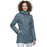 chaqueta Ragwear Monadis Rainy - 5028/Petrol - women´s