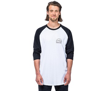 tričko Horsefeathers Trent LS - Black