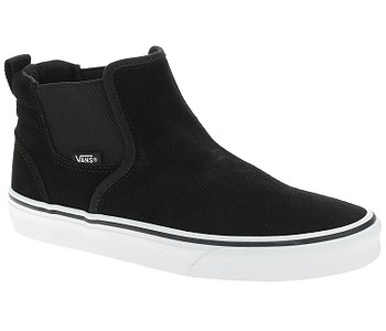boty Vans Asher Mid - Suede/Black/White
