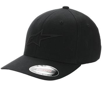 kšiltovka Alpinestars Ageless Curve - Black/Black