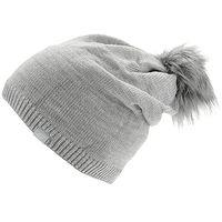 Mütze 4F H4Z20-CAD008 - 26M/Warm Light Gray Melange - women´s
