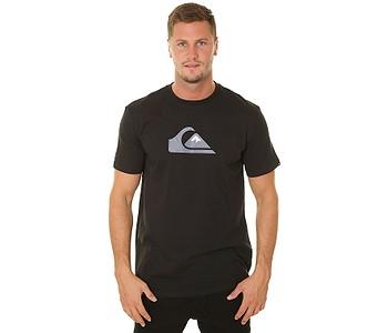 tričko Quiksilver Comp Logo - KVJ0/Black