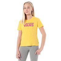 T-shirt Vans Flying V Crew - Lemon Chrome