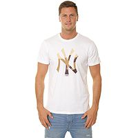 T-shirt New Era Ext Camo Infill MLB New York Yankees - White - men´s