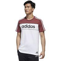 T-shirt adidas Performance Mens Essentials Tape - Legacy Red Mel/White/Black - men´s