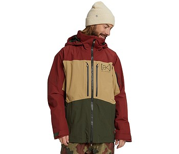 bunda Burton Swash AK 2L Gore-Tex - Sparrow/Kelp/Forest Night