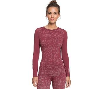 tričko Roxy Make My Way LS - RRR0/Tibetan Red