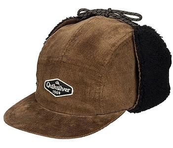kšiltovka Quiksilver Winter Cap - CQA0/Bronze Brown