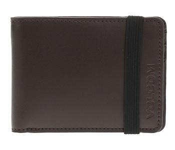peněženka Volcom Halfstone Leather 2F - Brown