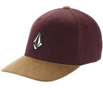 kšiltovka Volcom Full Stone Heather Flexfit - Dark Port
