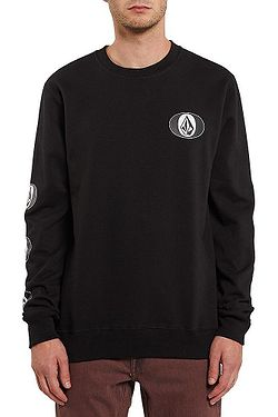 sweatshirt Volcom Stone Stack Crew - Black - men´s