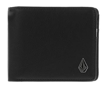 peněženka Volcom Slim Stone PU - Black