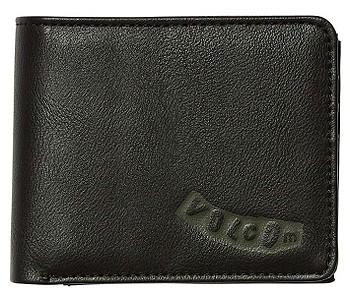 peněženka Volcom Pistol PU 3F - Black