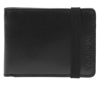 peněženka Volcom Halfstone Leather 2F - Black