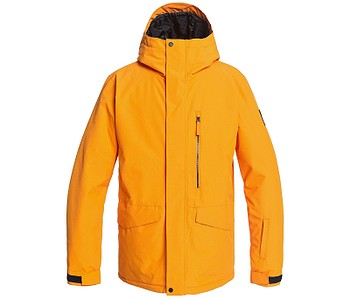 bunda Quiksilver Mission Solid - NKP0/Flame Orange
