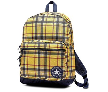 batoh Converse Go 2/10019901 - A02/Speed Yellow Plaid/Obsidian