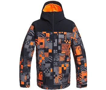 bunda Quiksilver Morton - NKR6/Shocking Orange Radpack