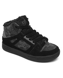 boty DC Pure High -Top WNT - CA2/Black Camouflage