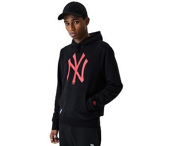 mikina New Era Seasonal Team Logo MLB New York Yankees - Black/Cyber Red