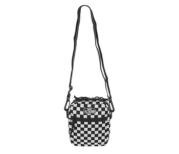 taška Vans Street Ready II Crossbody - Black/White Checkerboard