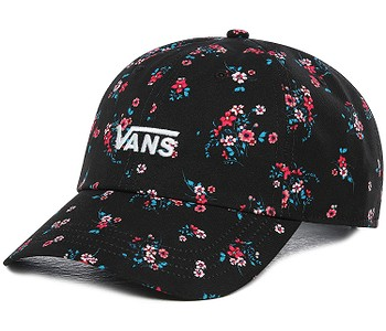 kšiltovka Vans Court Side - Beauty Floral Black
