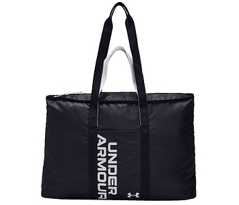 taška Under Armour Favorite Metallic Tote - 002/Black/Black/Halo Gray