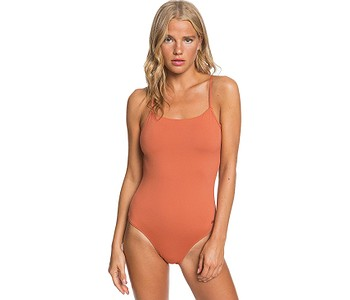 plavky Roxy SD Beach Classics Fa One Piece - NNY0/Auburn