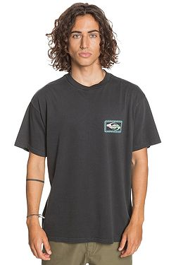 T-Shirt Quiksilver Midnight Show - KVJ0/Black - men´s