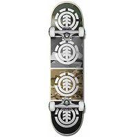 skateboard Element Camo Quadrant Complete - Assorted