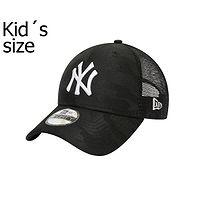 dziecięca czapka z daszkiem New Era 9FO Seasonal Trucker MLB New York Yankees Child - Black