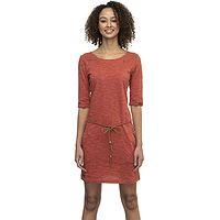 Kleid Ragwear Tanya Slub - 6001/Terracotta - women´s