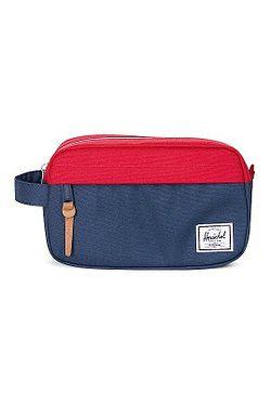 kosmetická taška Herschel Chapter Carry On - Navy/Red/Woodland Camo