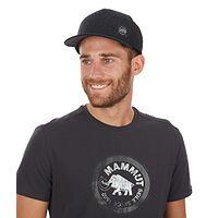 czapka z daszkiem Mammut Alnasca - Black/Phantom