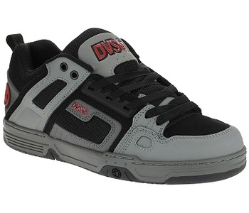 boty DVS Comanche - Gray/Charcoal/Black/Leather