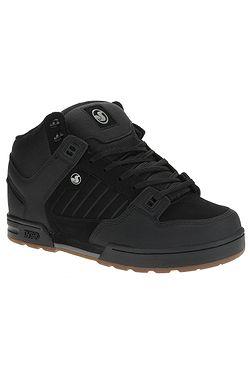 boty DVS Militia Boot - Black/Black/Gum/Nubuck