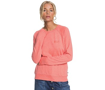 mikina Roxy Stay Together - MLFH/Deep Sea Coral Heather