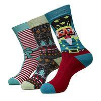 Socken Urban Classics Christmas Nutcracker 3 Pack/TB3746 - Multicolor