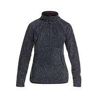 sweatshirt Roxy Cascade - KVM9/True Black Zebra Print - girl´s