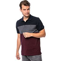 T-shirt Heavy Tools Depore Polo - Red - men´s