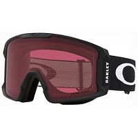 des lunettes Oakley Line Miner XL - Matte Black/Prizm Dark Gray - men´s