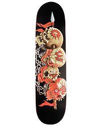skateboardová deska Creature Gwar Skulls - No Color